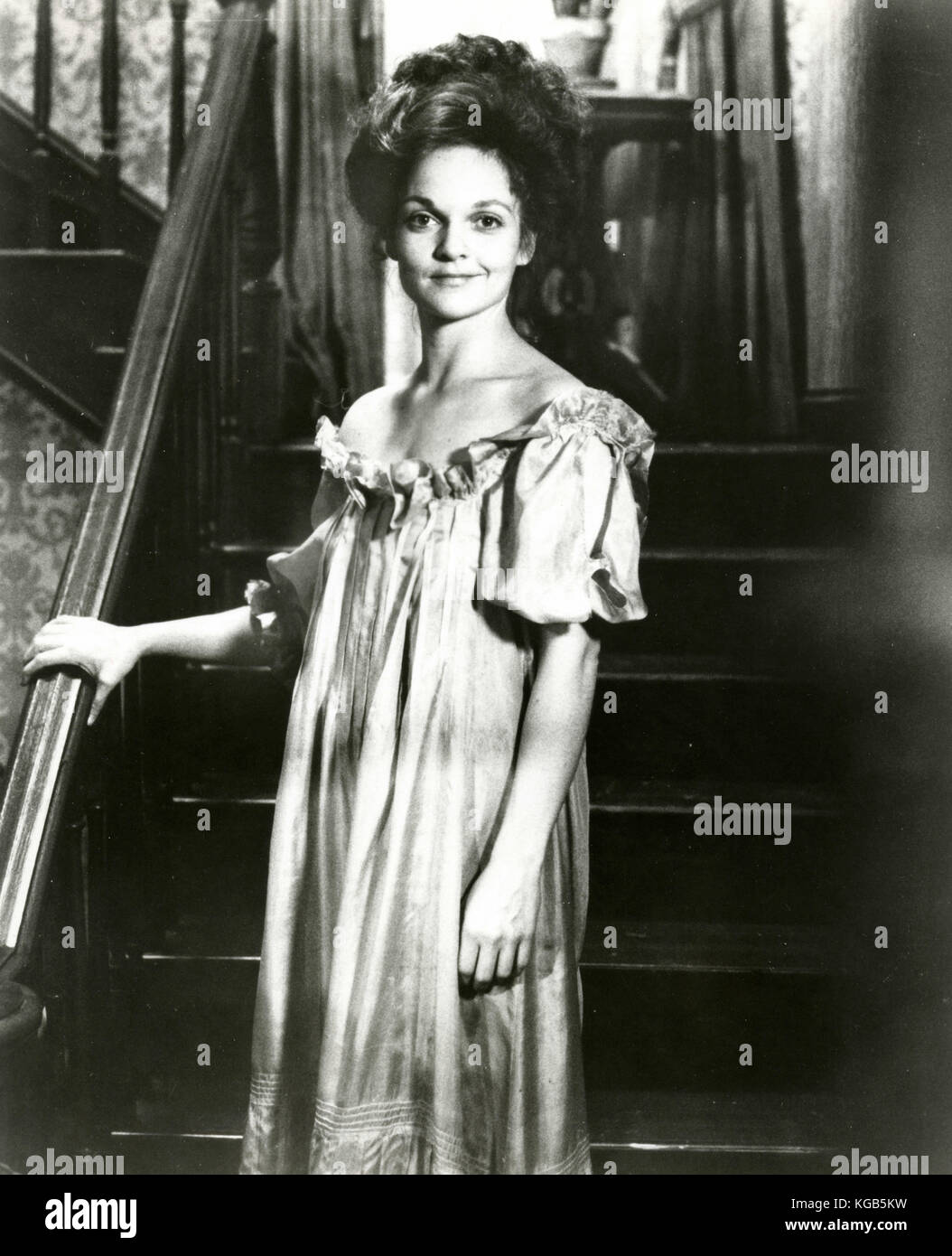 L'actrice Pamela Reed dans le film The Long Riders, 1980 Photo Stock