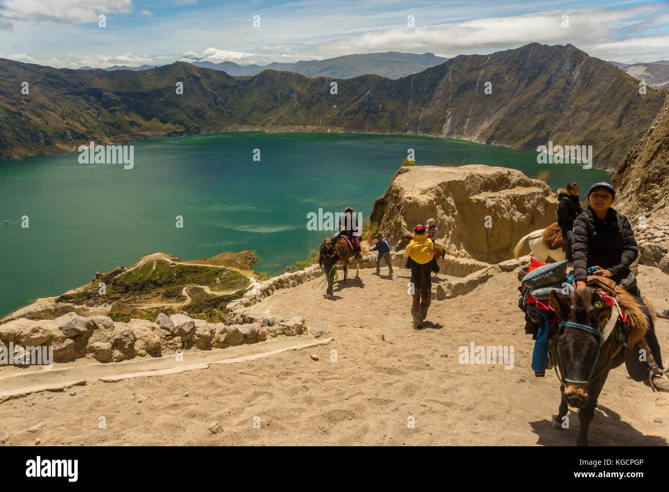 Amérique du Sud Équateur latacunga billet Photo Stock