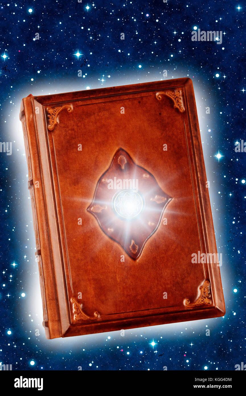 livre de magie Banque D'Images