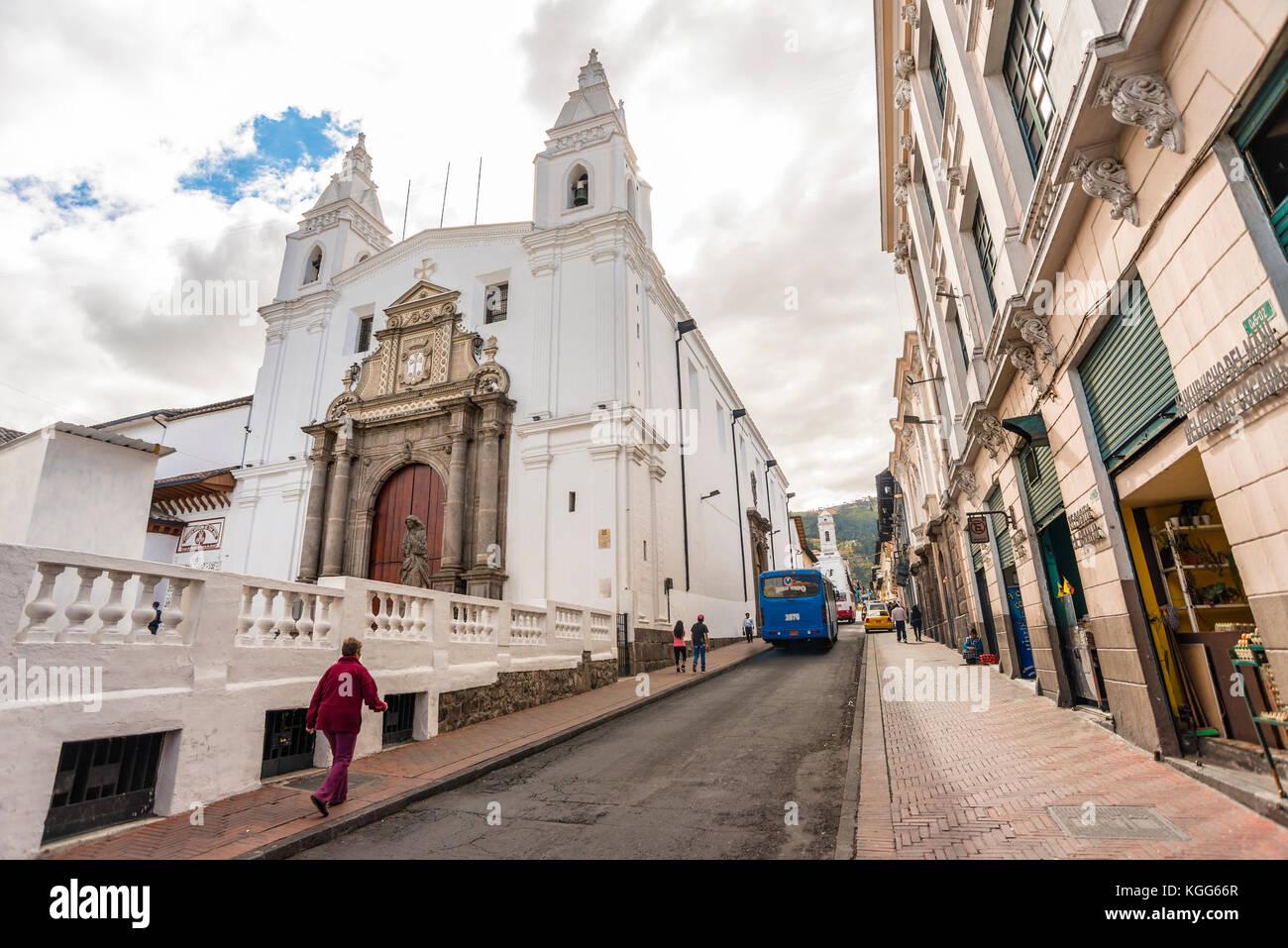 Amérique du Sud Equateur Quito Photo Stock
