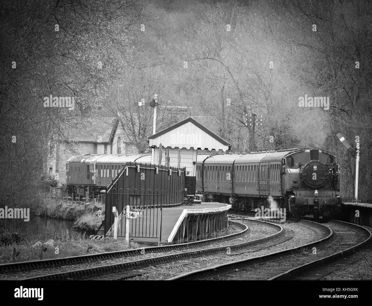 Churnet Valley Railway Photo Stock