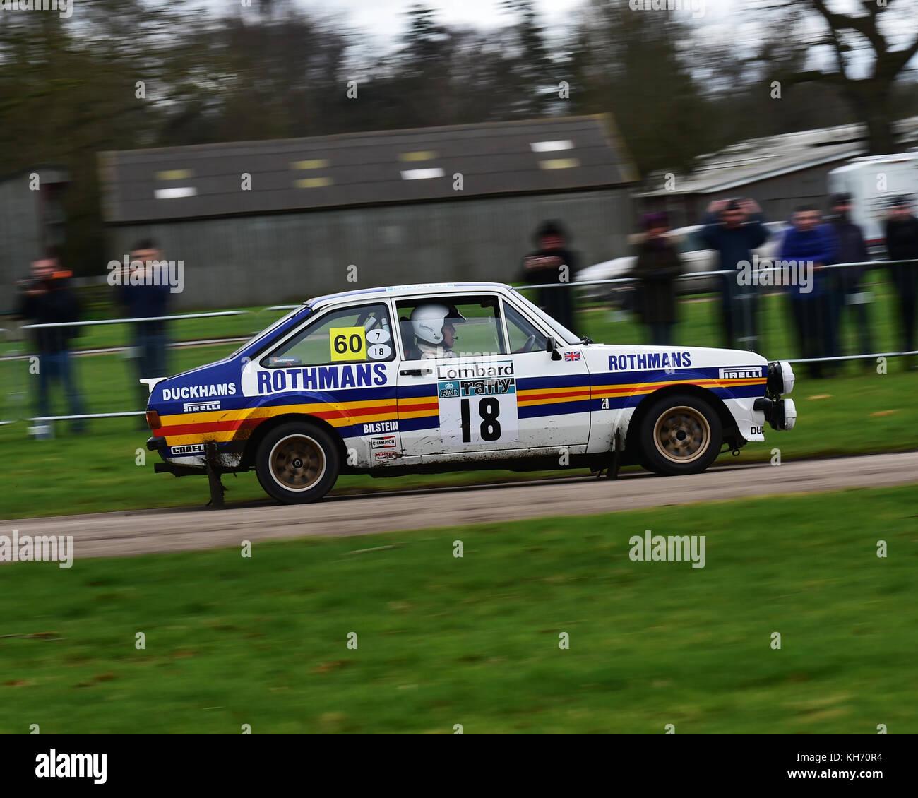 ari vatanen ford escort rs 1800 la race retro rally stade samedi