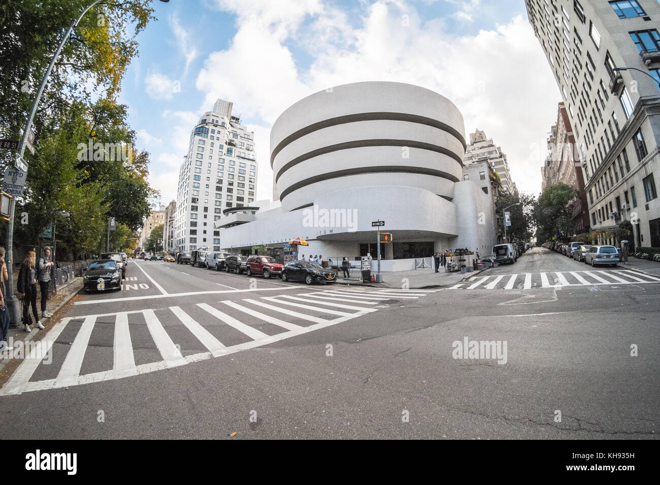Salomon. r. Guggenheim Museum, 5e avenue, Manhattan, New York, NY, États-Unis d'Amérique. aux États Photo Stock