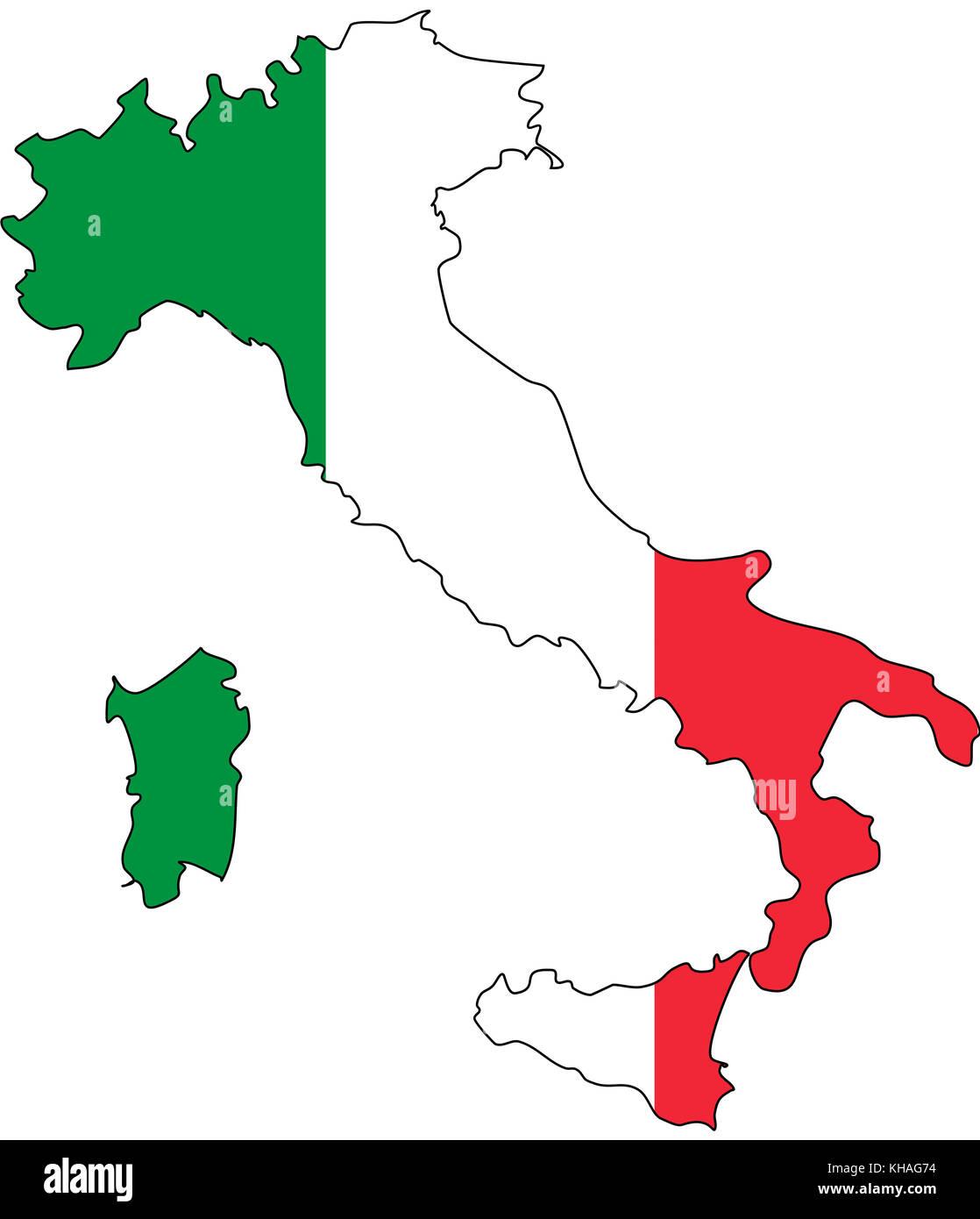 couleurs du drapeau d italie