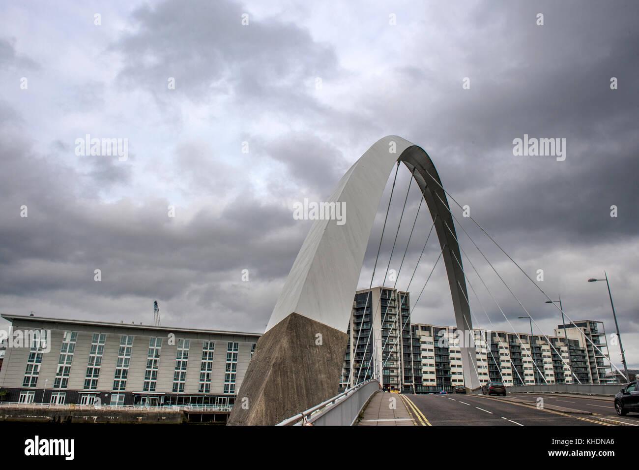Royaume-uni, Ecosse, GLASGOW, LE CLYDE ARC Banque D'Images