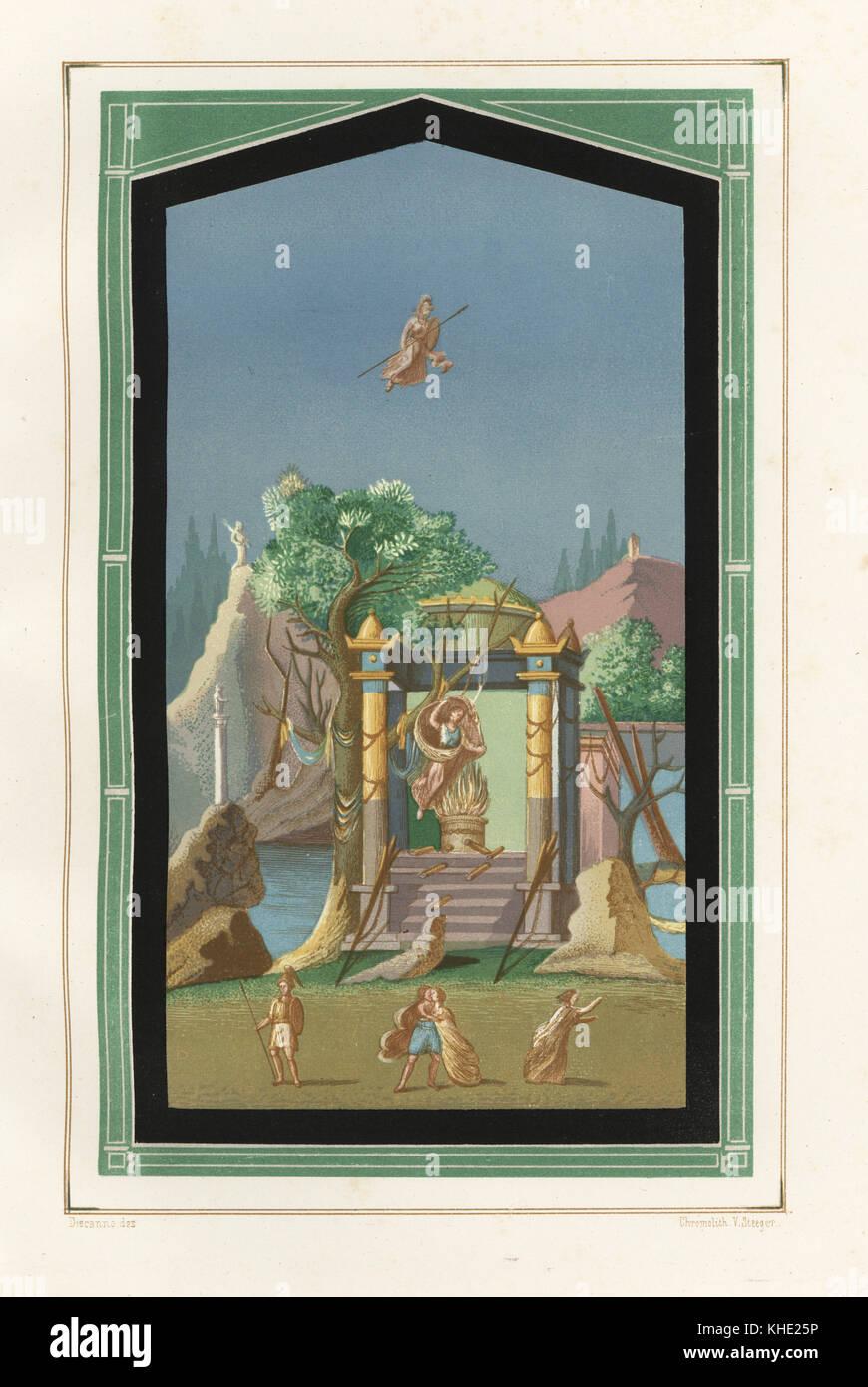 chromolithographie par victor steeger aprs une illustration par discanno presuhn geremia demiles les plus belles peintures de