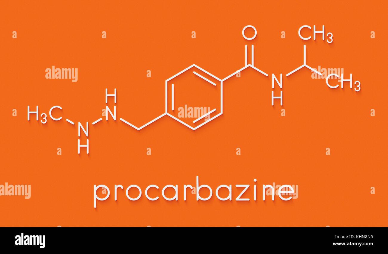 Cancer procarbazine molécule pharmaceutique. agent d'alkylation ...