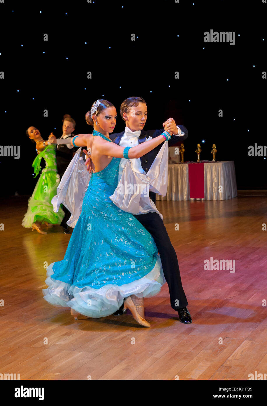 Championnat d'Europe de danse artistique wadf Photo Stock