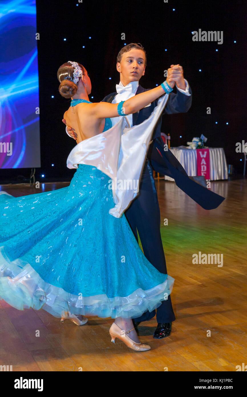 Championnat d'Europe de danse artistique wadf Banque D'Images