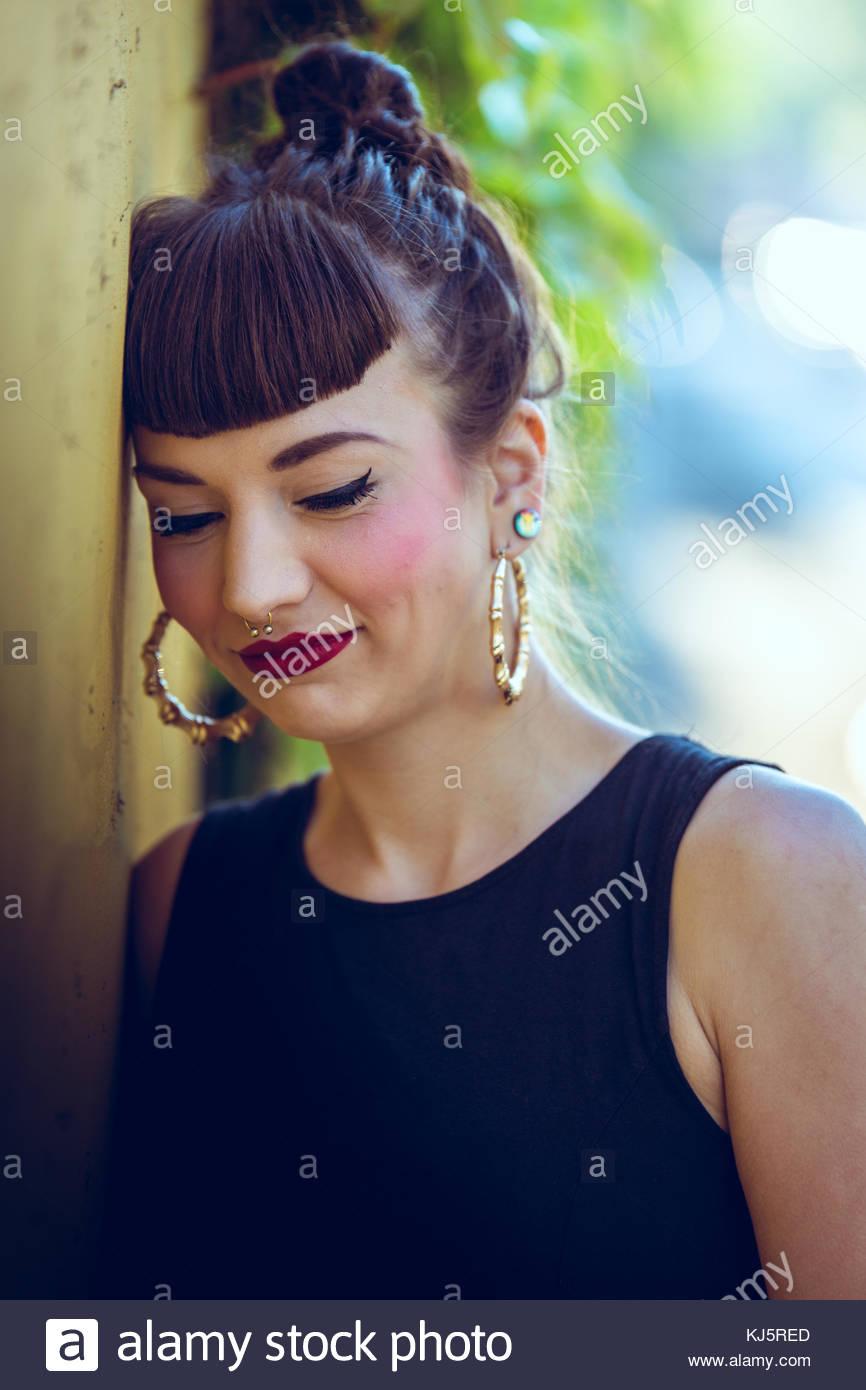 Songeur Photo Stock