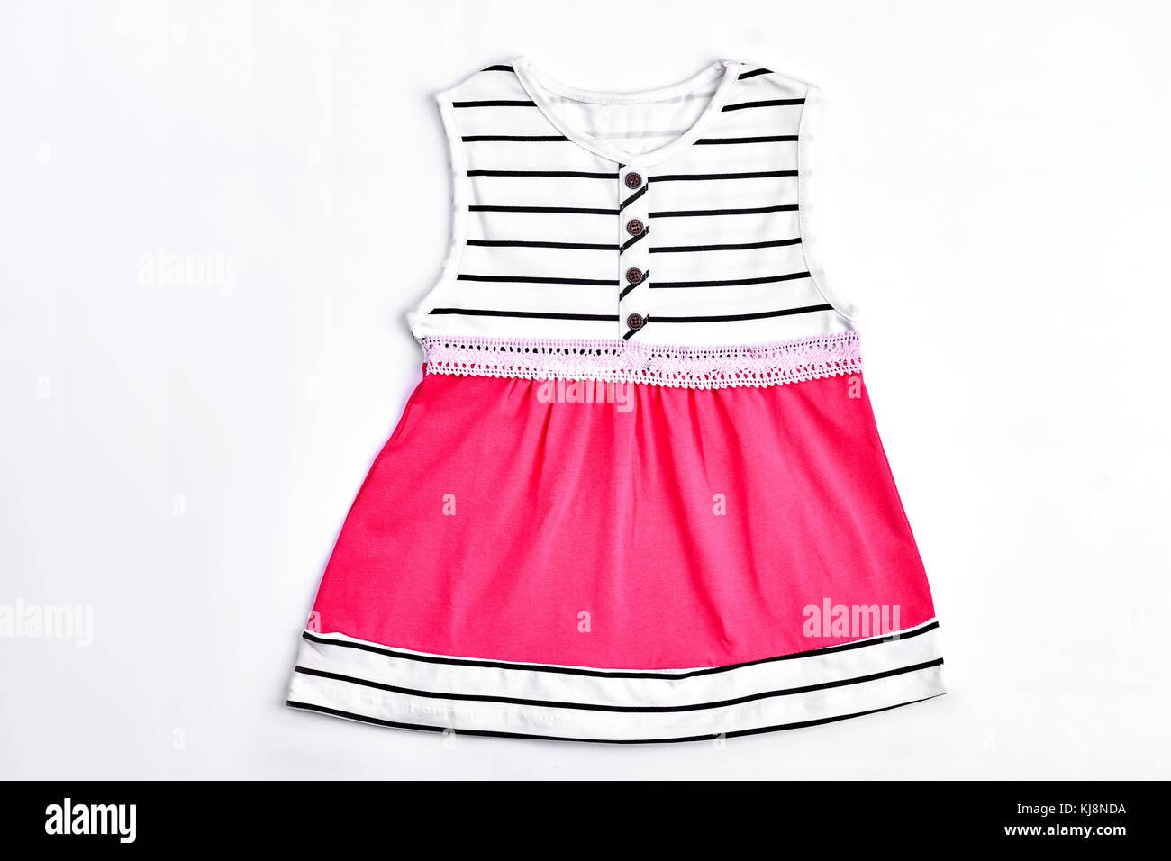 9f14bf632f626 Top quality fashion robe bébé. belle rose à rayures et robe à bretelles