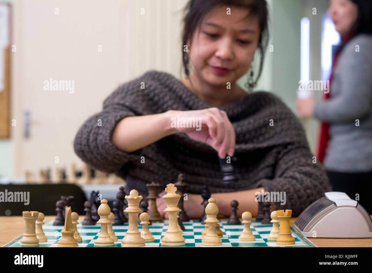 Jeu d'échecs. La France. Banque D'Images