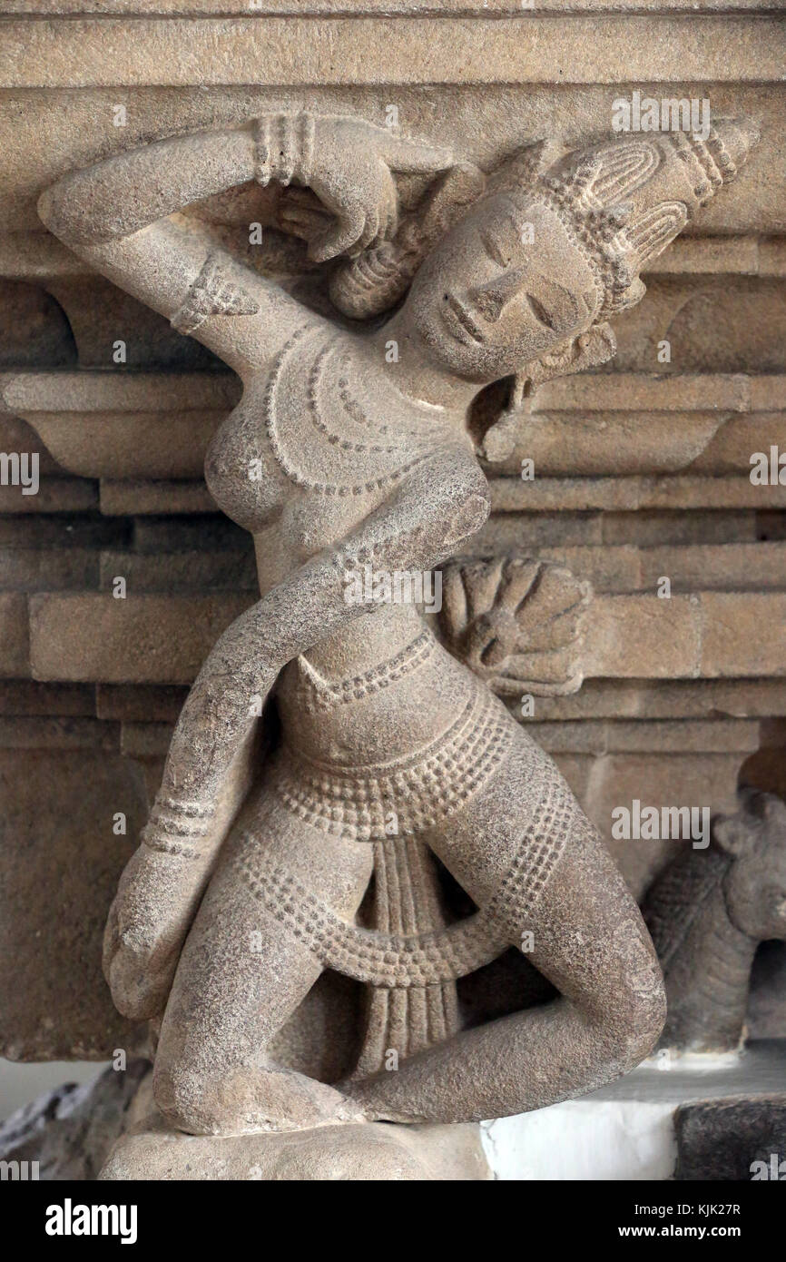 Museum of Cham Sculpture. Apsara. Danang. Le Vietnam. Photo Stock