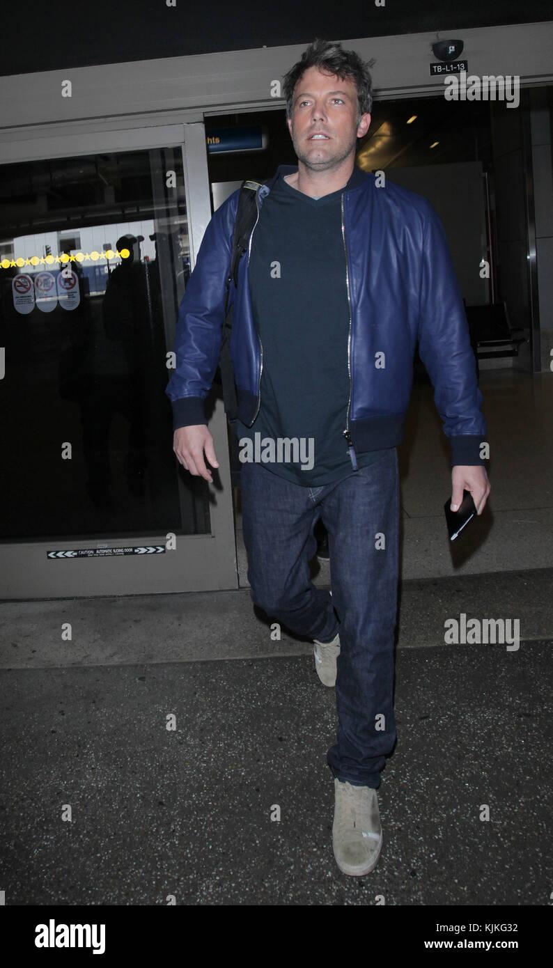 Los Angeles, CA - 17 mai: ben affleck est vu à lax le 17 mai 2016 à Los Angeles, Californie personnes: Photo Stock