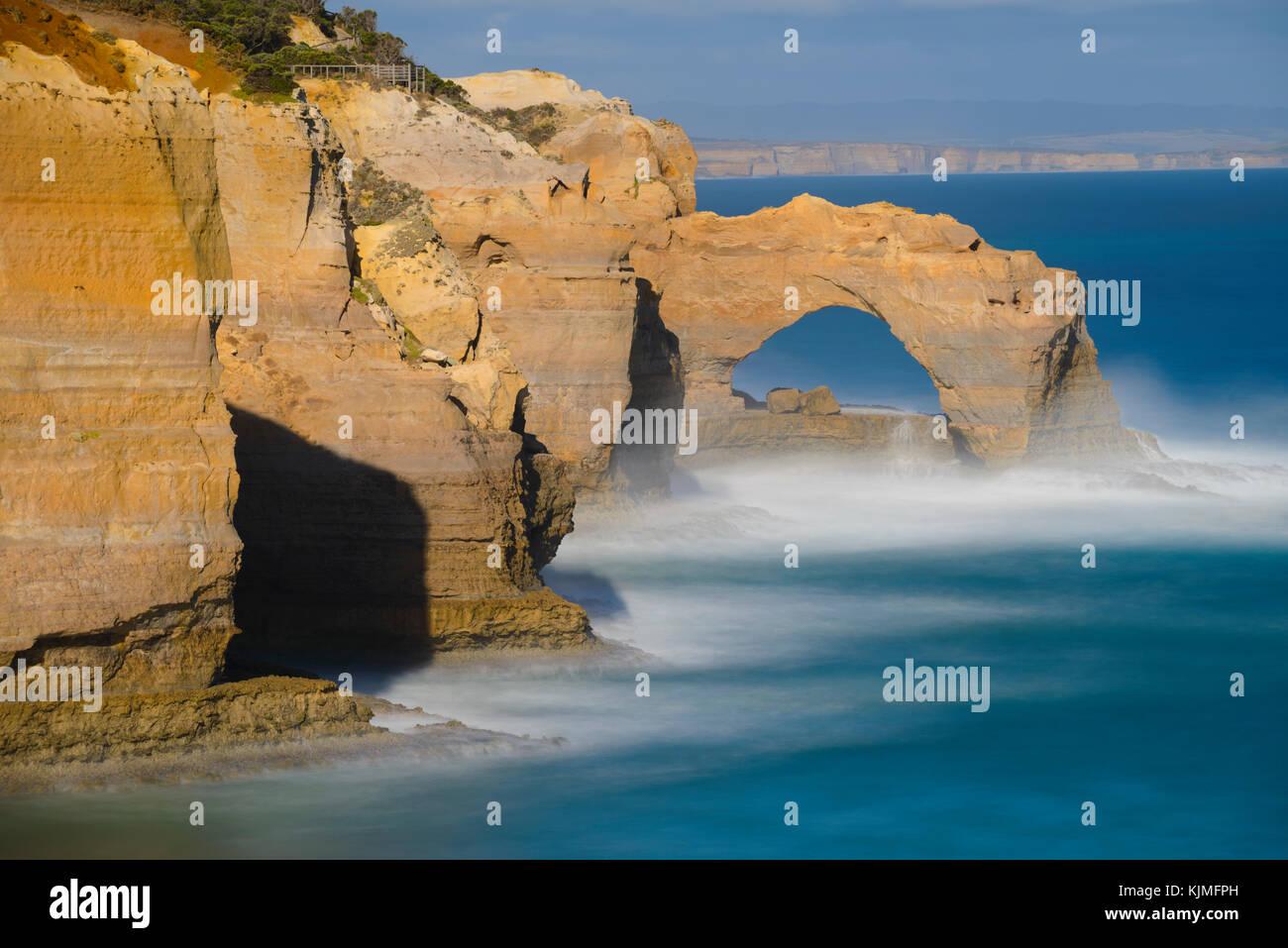 L'Arche, les douze apôtres, Great Ocean Road, Port Campbell National Park, Victoria, Australie Photo Stock