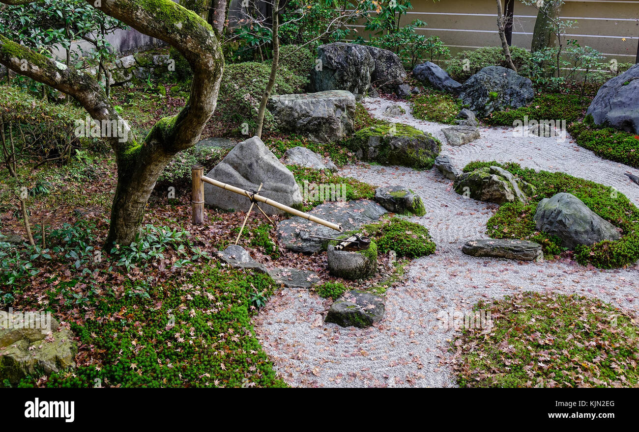 Petit jardin zen japonais la méditation des pierres sur ...