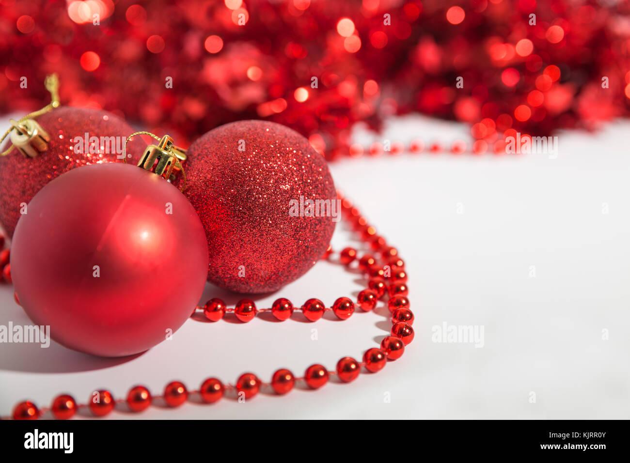 decors de perles scintillants pour noel