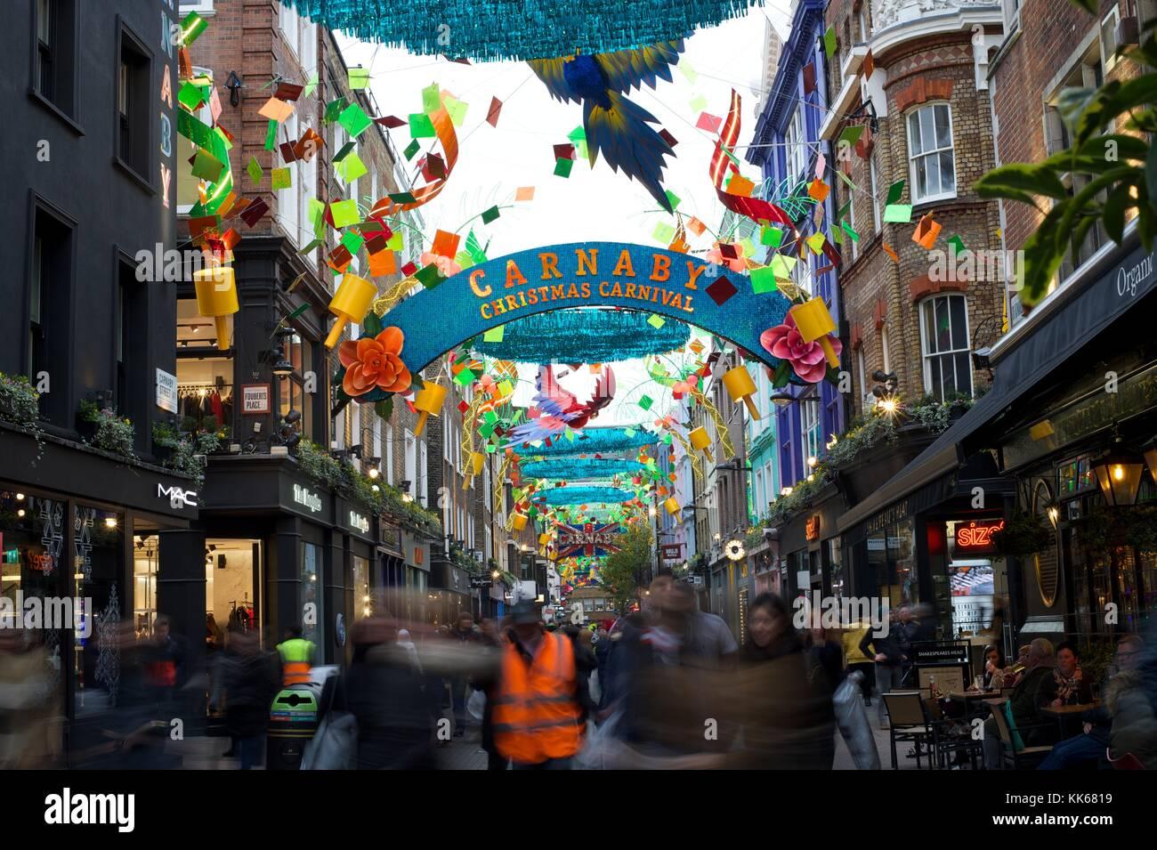 Carnaby street Photo Stock
