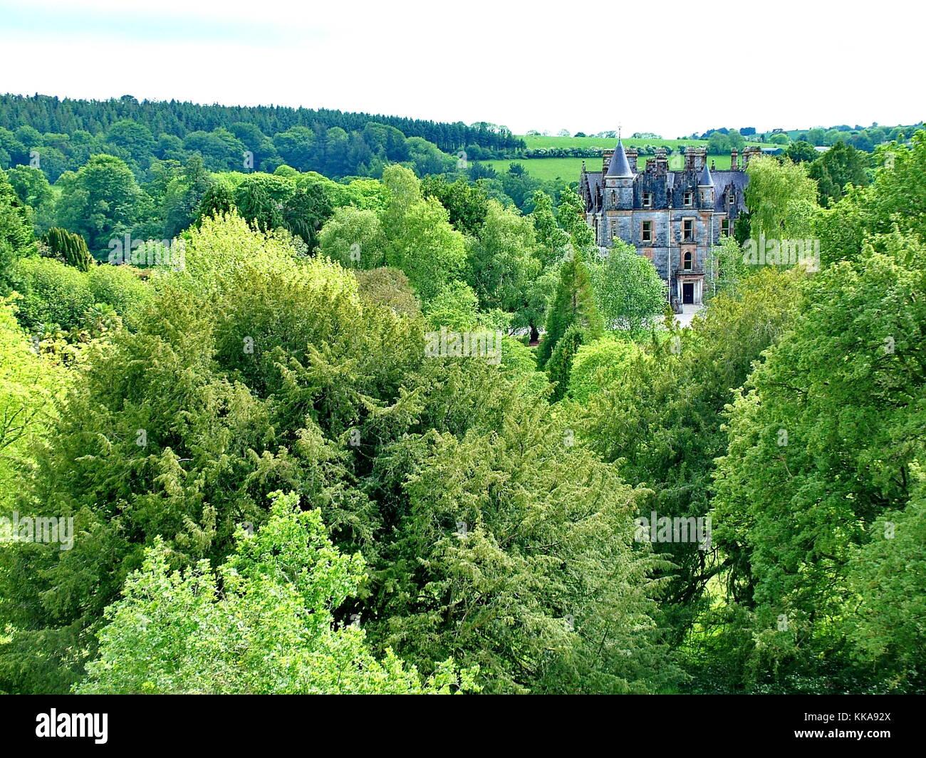 Maison près de Blarney Blarney Castle, co Cork, Ireland Photo Stock