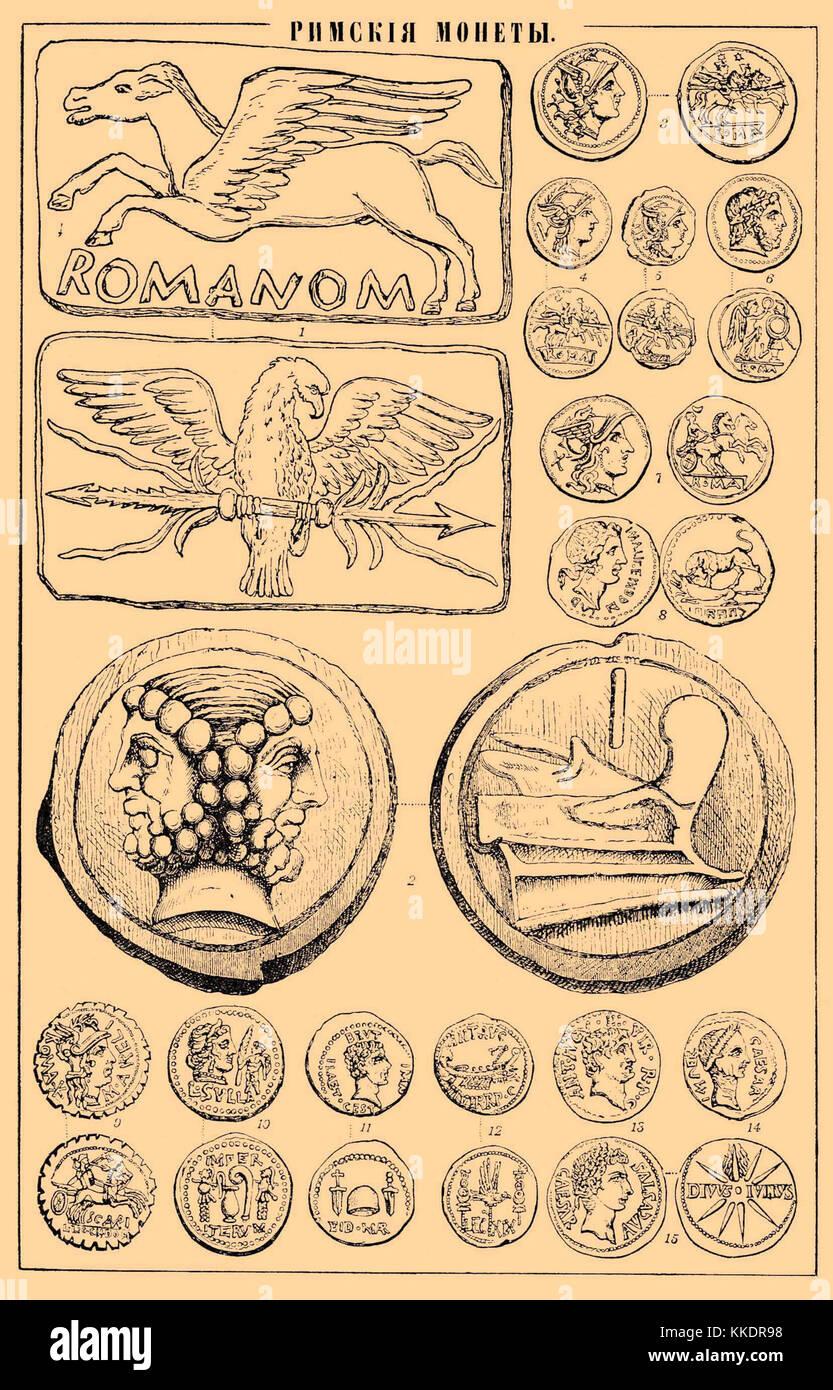Dictionnaire encyclopédique Brockhaus et Efron b52 726-0 Banque D'Images