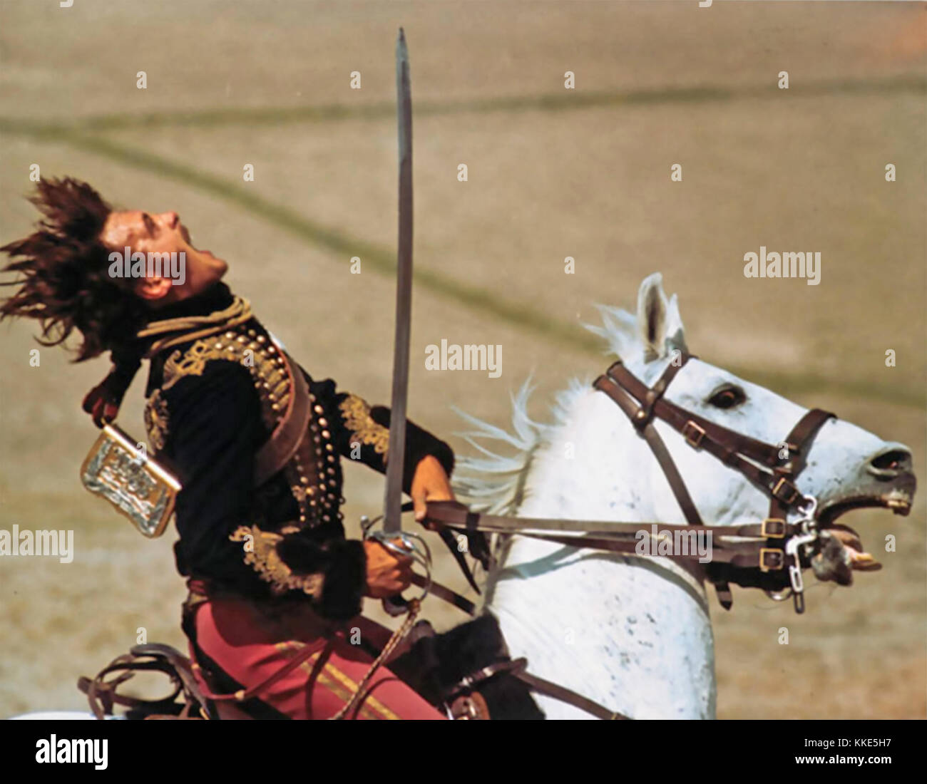 La charge de la brigade légère 1968 United Artists film avec David hemmings le capitaine Louis nolan Photo Stock