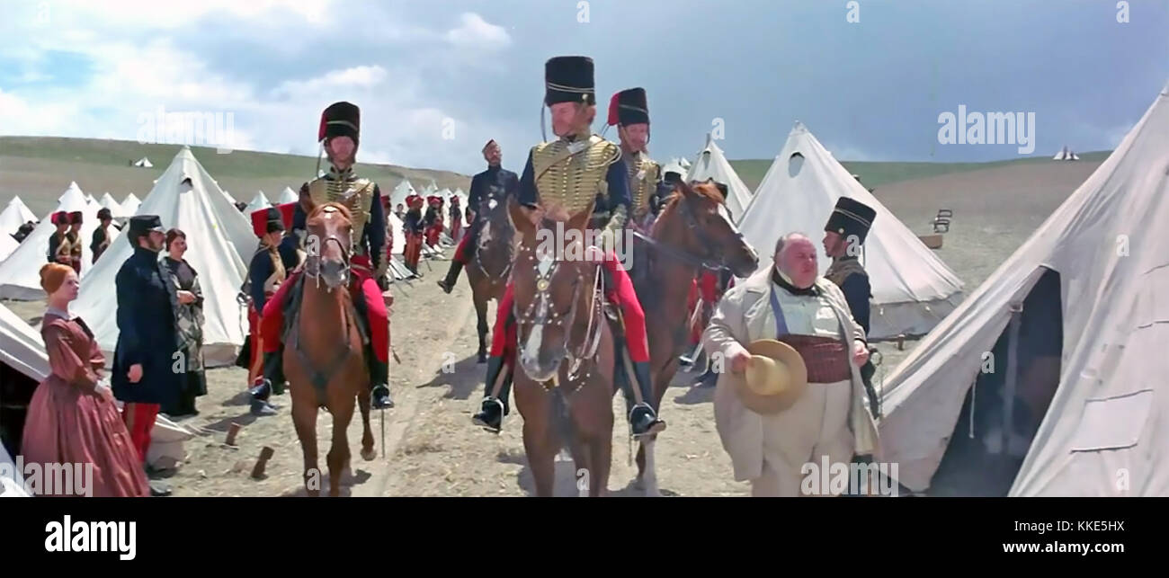 La charge de la brigade légère 1968 United Artists film avec Trevor howard comme lord cardigan Photo Stock