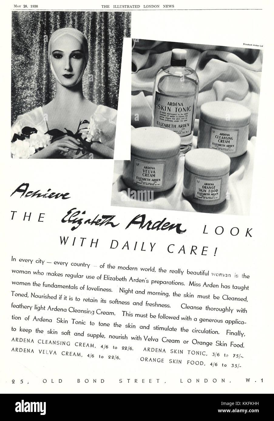 Publicite Advertising 1965 Elisabeth Arden Cosmétiques Ardena Other Breweriana