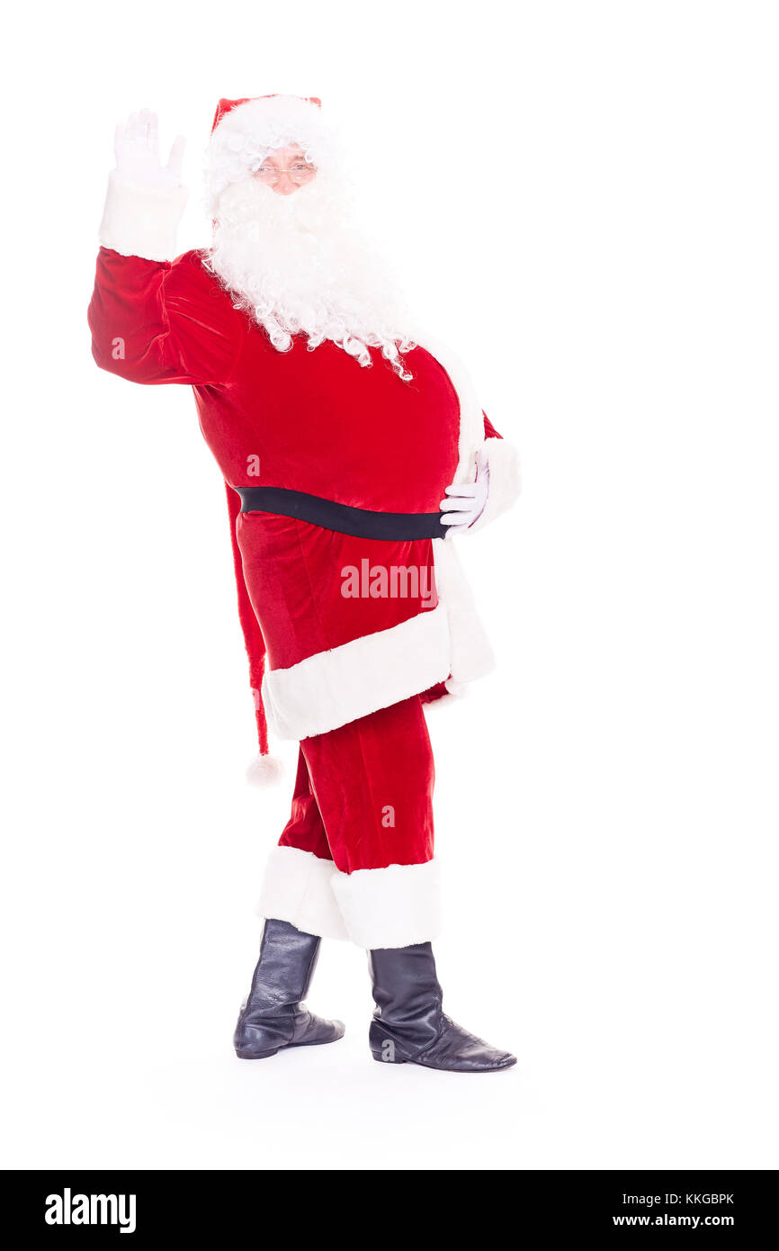 Vrai père noël Photo Stock