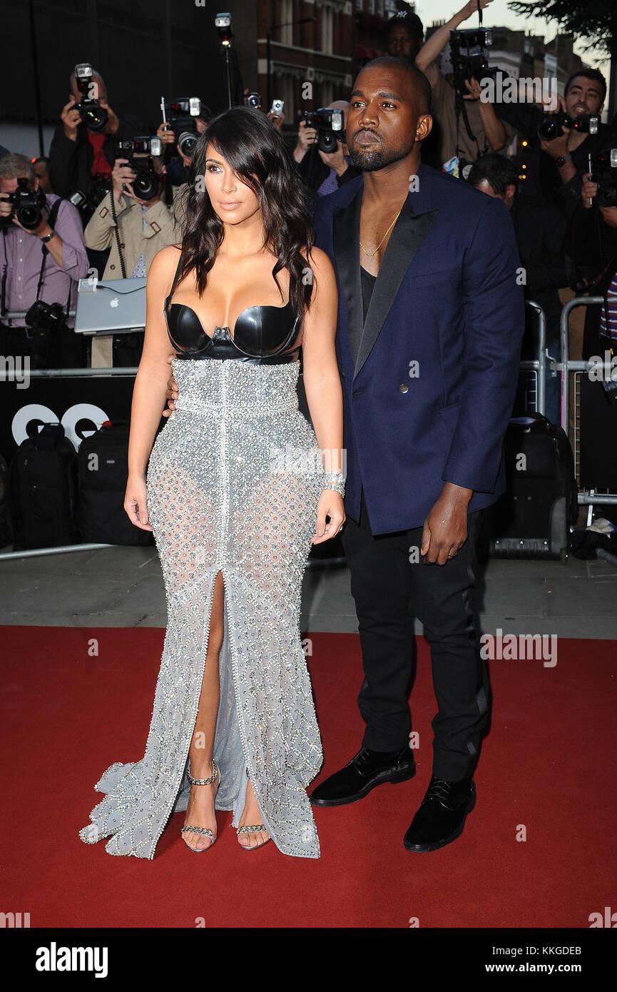 Kim Kardashian et Kanye West sortent de leur hôtel à Miami le.