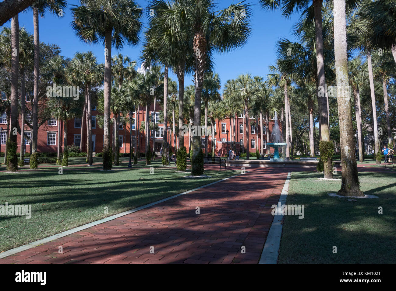 Stetson University College of Arts and Sciences, de l'autre, Boulevard DeLand, FL, United States Banque D'Images