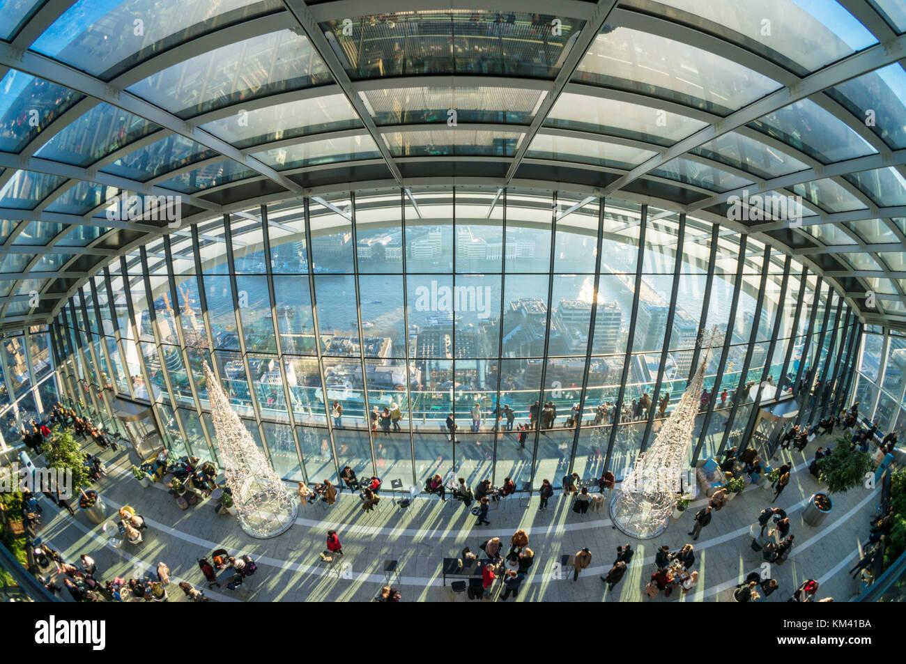 Angleterre Londres Angleterre ville de Londres l'édifice, catégorie gratte-ciel ou talkie walkie 20 Fenchurch Street Banque D'Images