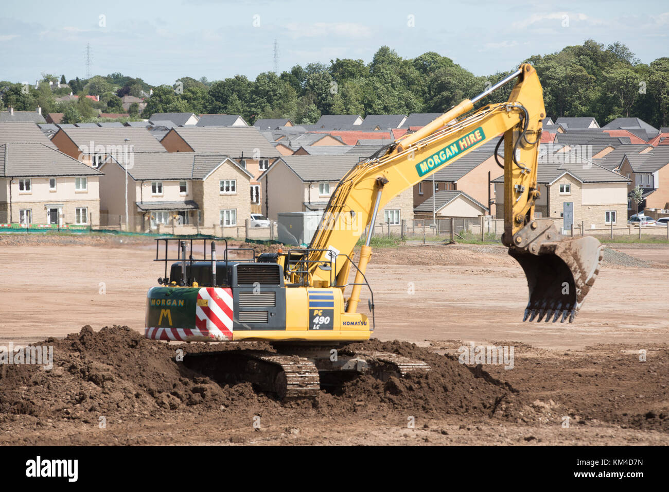 Brownfield photos brownfield images alamy for Construction maison industrielle
