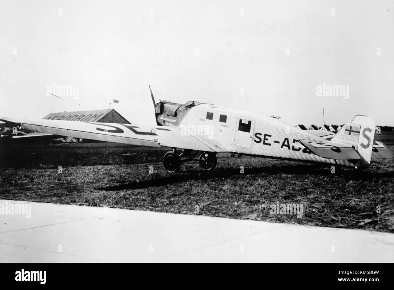 junker 33 w dalsland se abz aba avion s 39 en mai 1929 1 banque d 39 images photo stock. Black Bedroom Furniture Sets. Home Design Ideas