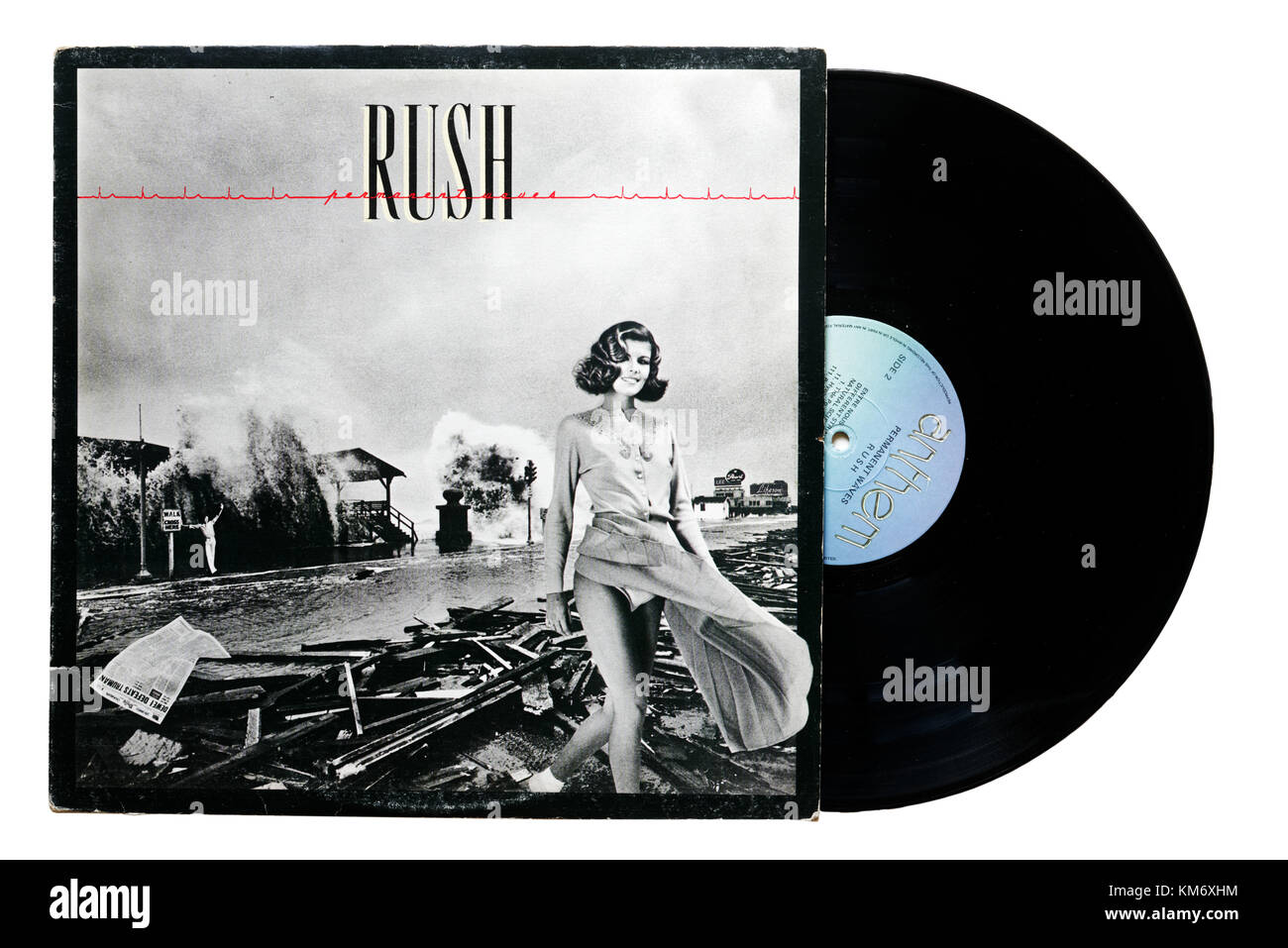 Rush album vagues Permanent Photo Stock