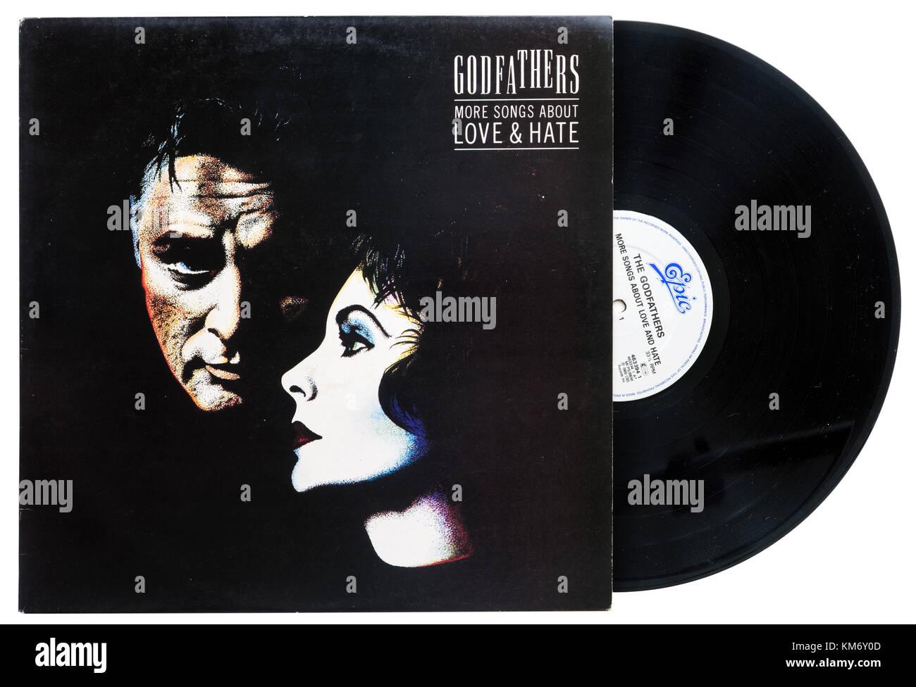 Parrains d'autres chansons sur un album d'amour et de haine Photo Stock