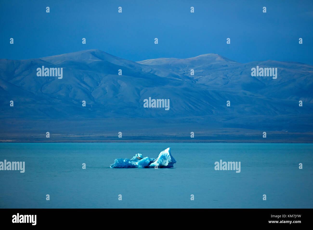 Iceberg dans lago viedma, Patagonie, Argentine, Amérique du Sud Photo Stock