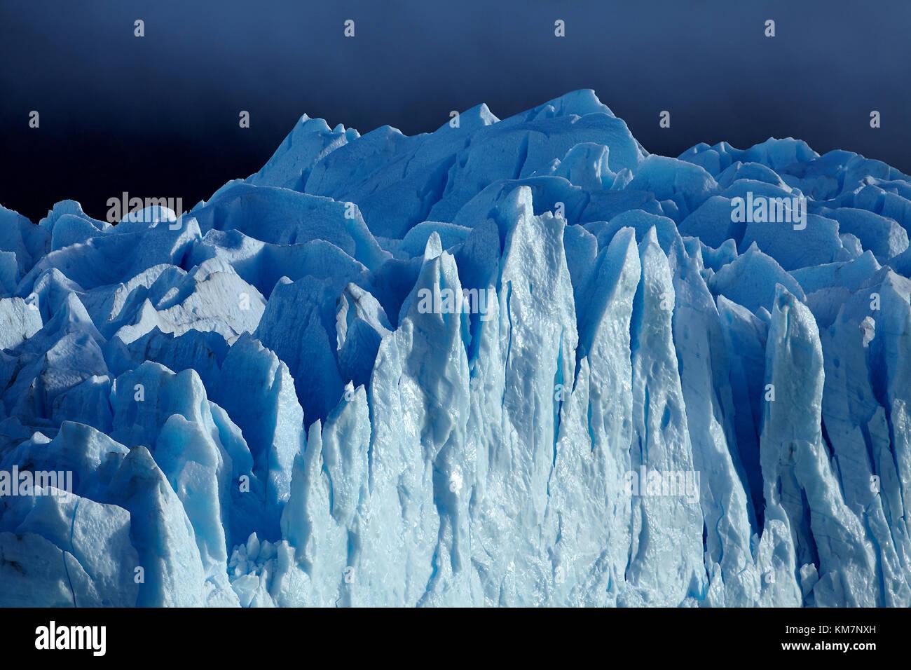 Perito Moreno Glacier, Parque Nacional Los Glaciares (zone du patrimoine mondial), Patagonie, Argentine, Amérique Photo Stock