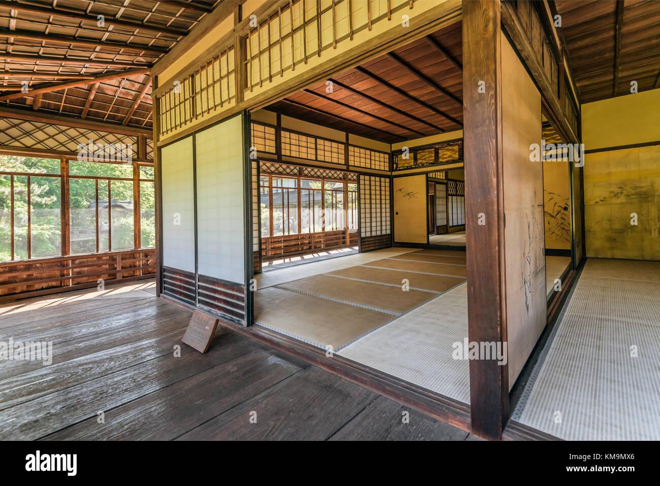 Interieur Maison Japonaise Traditionnelle intérieur de la maison au jardin sankeien rinshunkaku