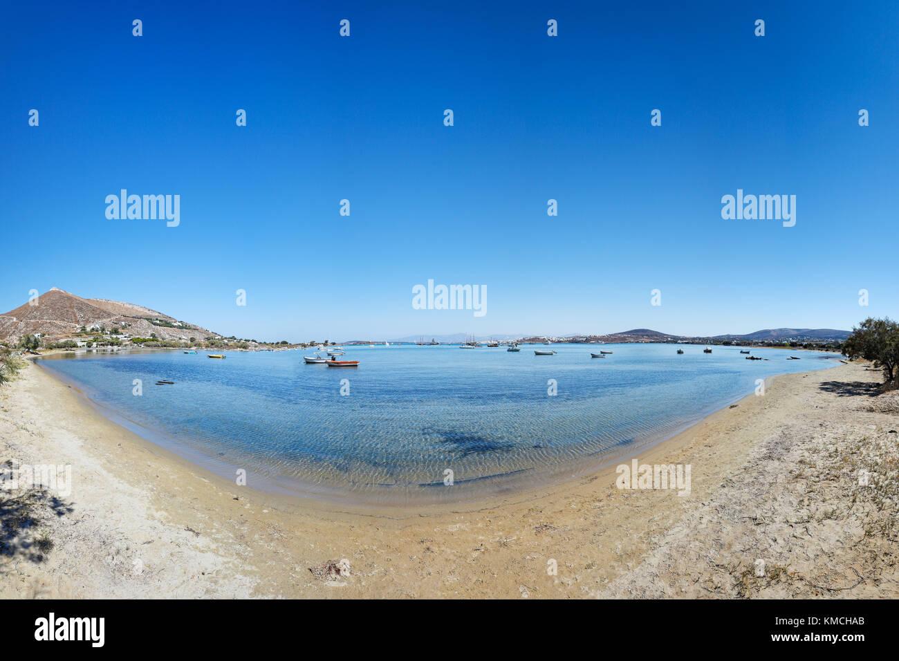 Kolymbithres beach de l'île de paros, Grèce Photo Stock