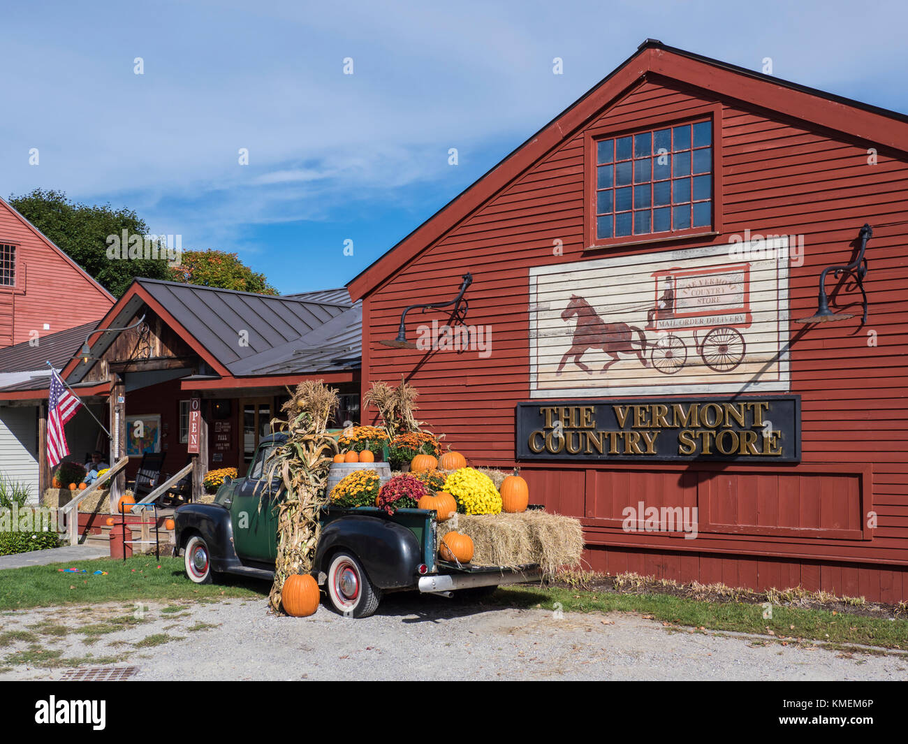 Vermont Country Store, Weston, Vermont. Banque D'Images