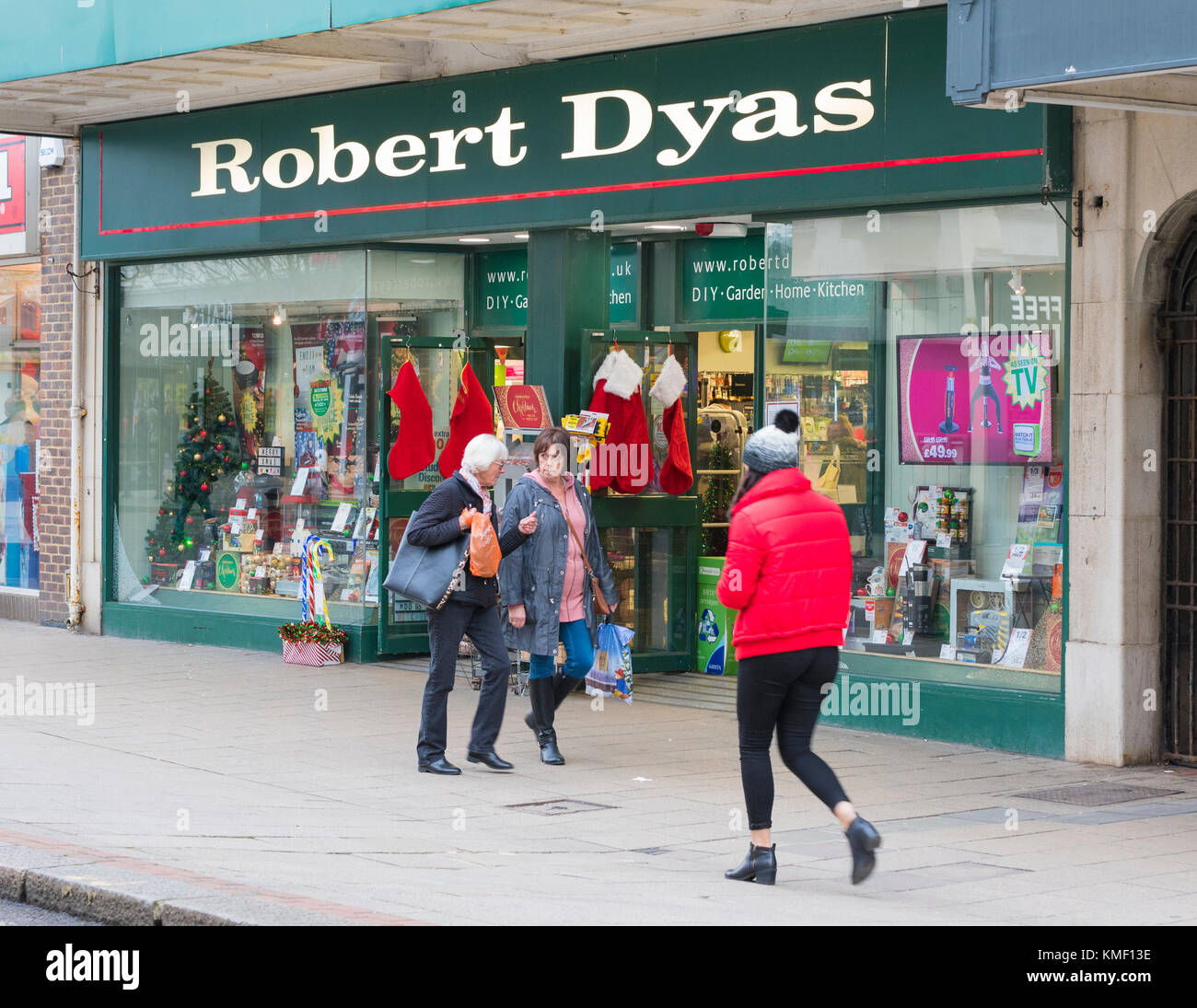 Robert Dyas shop face au Royaume-Uni. Magasin de vente au détail. Banque D'Images