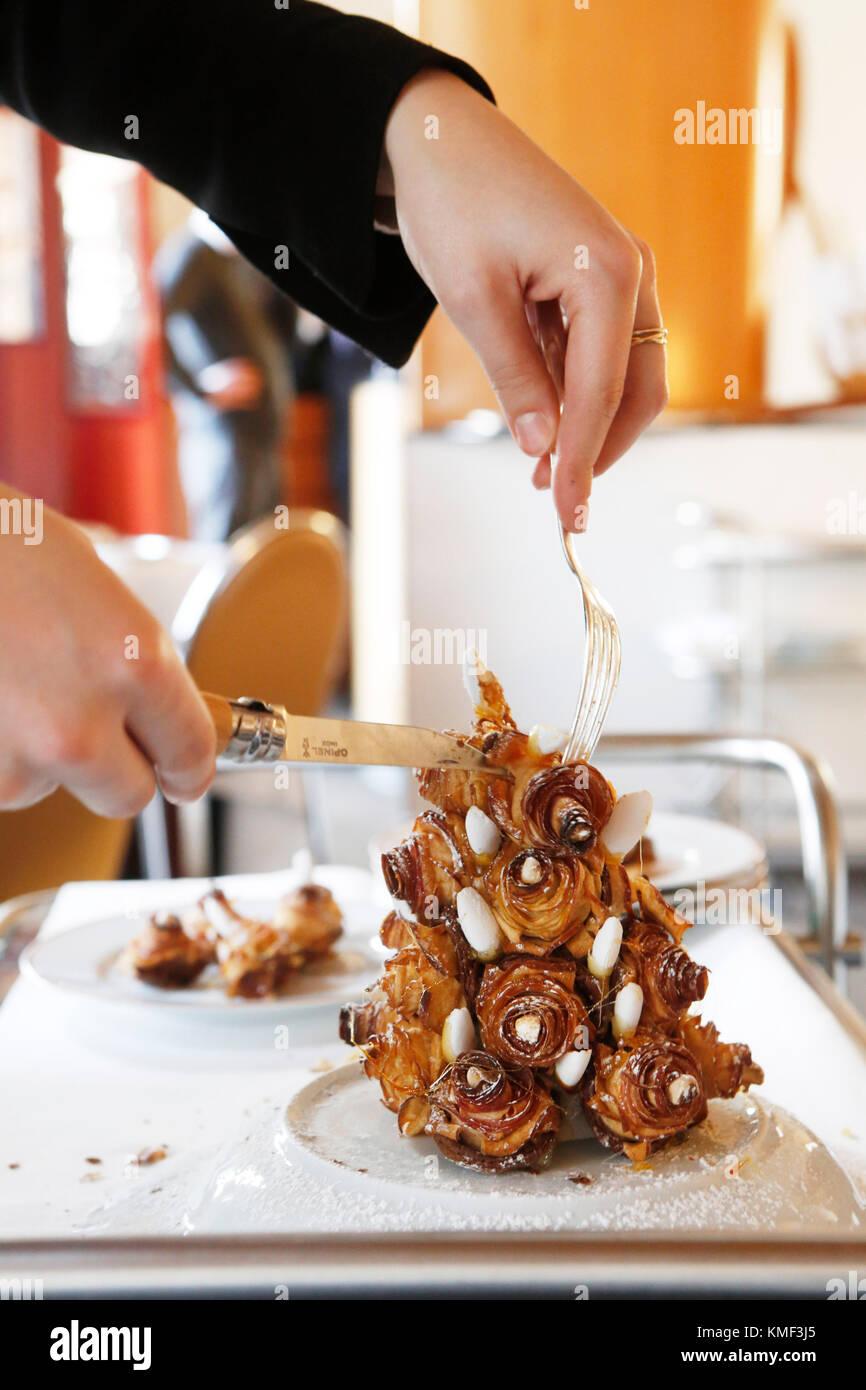 Paris France Restaurant Larpege Trois étoiles Au Guide