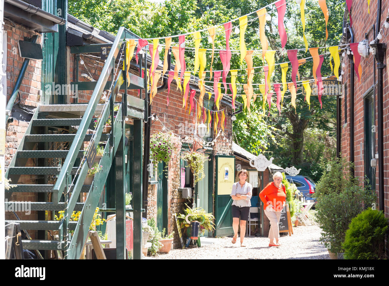 Salon de Thé Lady Grey, High Street, Wendover, Buckinghamshire, Angleterre, Royaume-Uni Photo Stock
