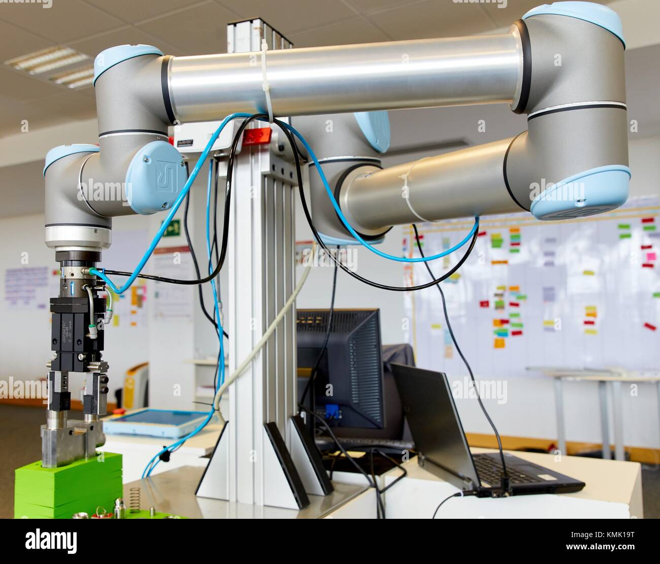 Robot, l'industrie, de la recherche et de la technologie, Centre de Recherche et Innovation, Tecnalia Donostia, Photo Stock