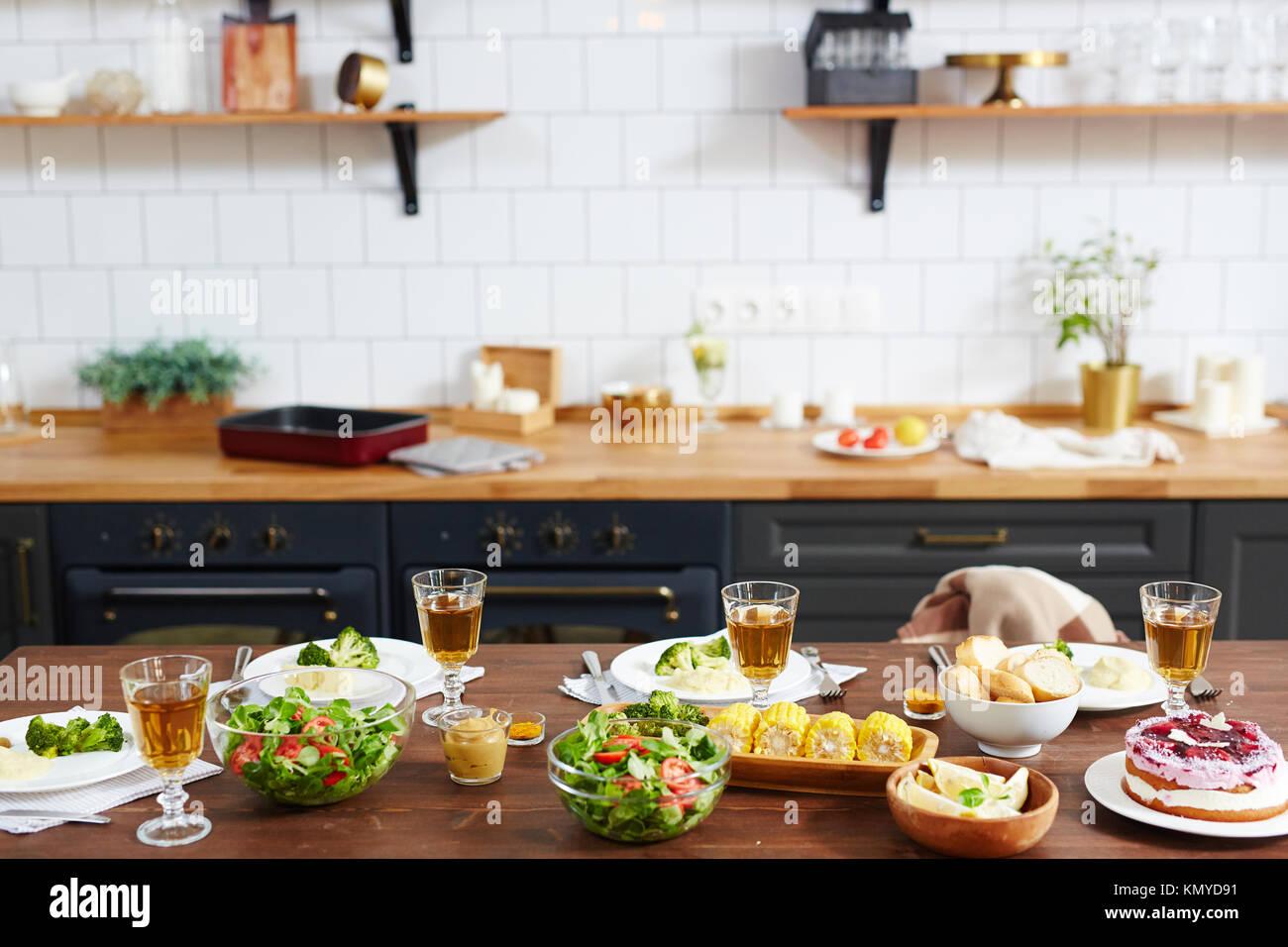 La nourriture pour les festivités Photo Stock