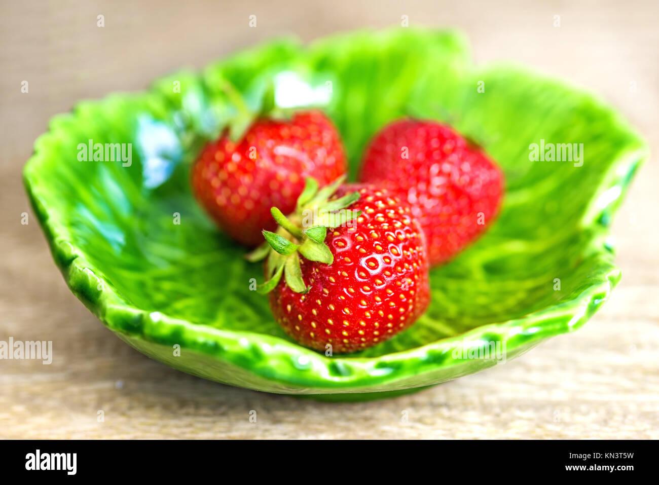 La fraise. Photo Stock