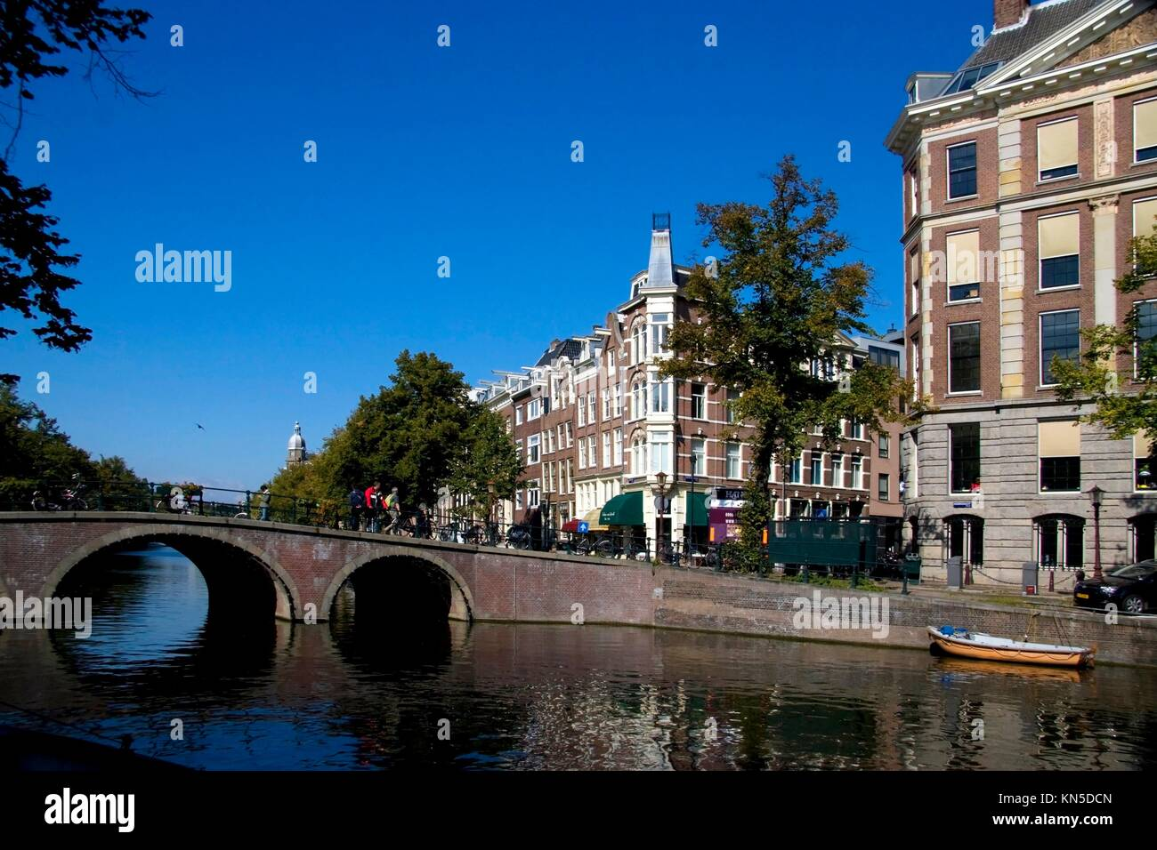 Keizersgracht, Amsterdam. Banque D'Images