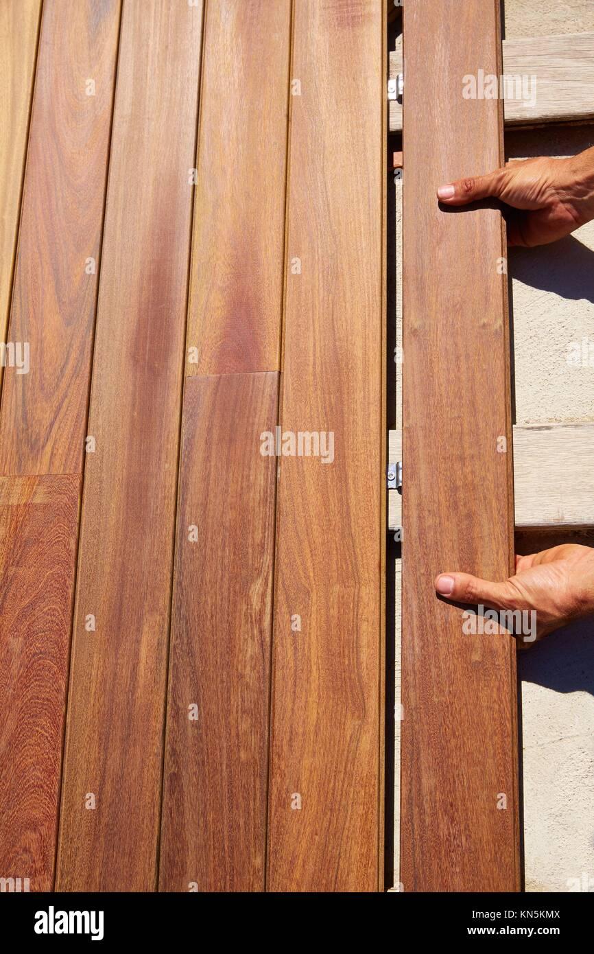 Ou Acheter Bois Ipe bois de pont en teck ipe clips d'installation d'attache