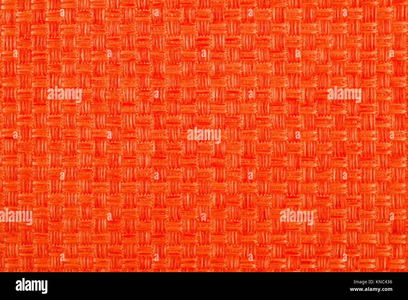 Arrière-plan de tissu de couleur orange Photo Stock