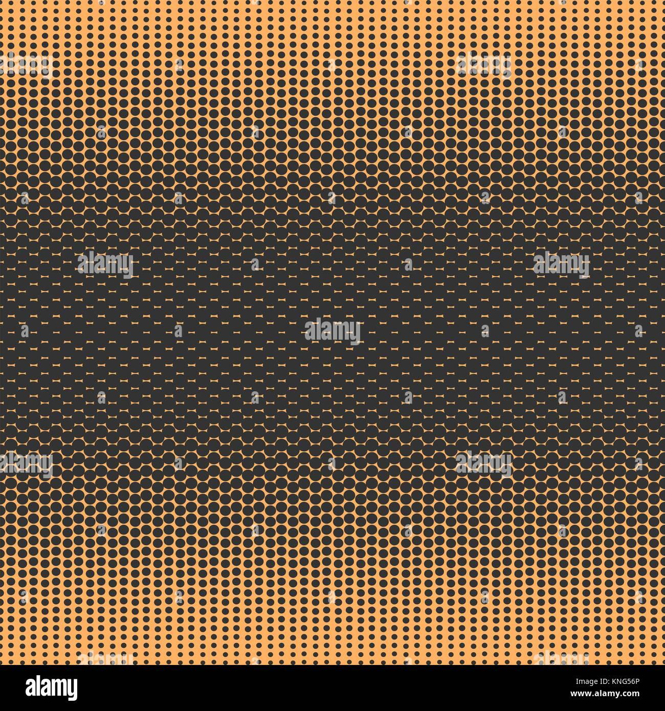 Dégradé Monochrome pattern style bande dessinée Illustration de Vecteur